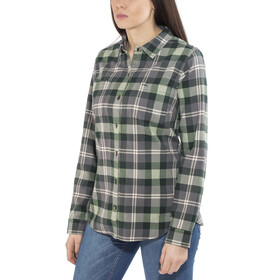 Royal Robbins Lieback longsleeve Dames grijs/groen